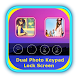 Dual Photo Keypad Lock Screen by STECHSOLUTIONS