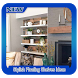 Stylish Floating Shelves Ideas by Bubble Town