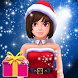 Santa Girl Advent Calendar Fun by Kaufcom Games Apps Widgets