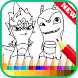 Coloring Book - Slugterra Fans by Best Coloring Book New Game Free
