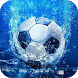 Soccer Ball in Water a live by Waterflo