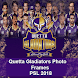 PSL 2018 - Quetta Gladiators Photo Frames by Theme & Launcher