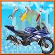 Motorcycle wash salon & repair by HangOn Games StudiO