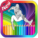 Heroes Coloring Pages by ZINA MOBILE APPS