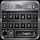 Metallic Black Typewriter by Ajit Tikone