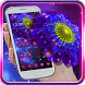 Purple Starry Holy Flower Like Jellyfish Theme