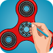 How to Draw Spinner - Learn to Draw by Mobilicos