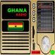 Radios FM Ghana Free by hd radio free streaming app free