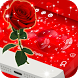 Red Love Valentine Keyboard by Theme Lovely