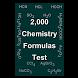 Chemistry Formulas Test