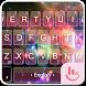 Neon Space Keyboard Theme by Sexy Free Emoji Keyboard Theme
