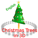 Christmas Trees Rotating in 3D by i3portugal