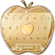 Crystal Gold Keyboard Keyboard Theme by Super Cool Keyboard Theme