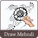How To Draw Mehndi Designs by Smart Mob Solution