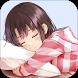 Sleeping Girl Anime Wallpaper by Kawaii co