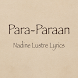 Para-Paraan Lyrics by Phil Bag-ao