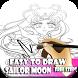 Easy To Draw Sailor Moon Kids by Maju Jaya