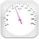 GPS Speedometer: white version by -UsefulApps-
