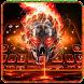 Horror skull Keyboard Theme by Super Cool Keyboard Theme