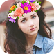 Photo Booth Heart Effect - Flower Crown by Diamond Square Art