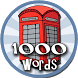 1000 words in English for children by The city of the apps