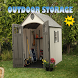 Outdoor Storage Design Ideas by byearlina
