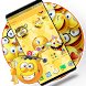 Emoji 2018 New Year Wallpaper by Cool Theme Love