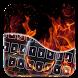 Fire Alien Keyboard Theme by Super Keyboard Theme