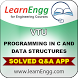 VTU Pro in C & Data Structures by learnengg