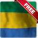 Gabon flag live wallpaper Free by Infomedia BH