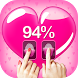 Are You in Love Calculator by Fingerprint by Thalia Graphic Image Fusion