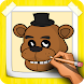 How To Draw FNAF Step By Step by CCGAMES : Games For Kids