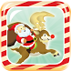Santa's Reindeer Lunge by Turtle Shack