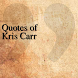 Quotes of Kris Carr by DeveloperTR