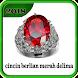 cincin berlian merah delima by Dodi_Apps