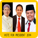 PKS Vote for President by winch mobile