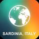 Sardinia, Italy Offline Map by EasyNavi