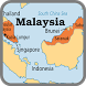 Map of Malaysia by Free world maps available