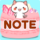 "Cute Notepad ""Kansai Cats"""