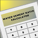 Water Cement Ratio Calc by BOYJ