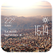 La Paz weather widget/clock by Widget Dev Team