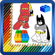 Coloring Book for Lego Super Heroes by Lolita Coloring