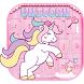 Rainbow Unicorn Keyboard theme by Fantasy Keyboard studio