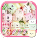 Marshmallow Keyboard Theme by Keyboard Theme Factory