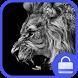Lion Lock screen theme by theme studio