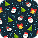 Christmas Background Wallpaper by whispering pictures