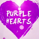 Purple Hearts wallpaper by Qanje Rumbi