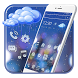 Glass Raindrop 2D Theme and Live wallpaper by trendy apps and Live wallpapers