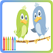 Birds Coloring Book by super im