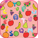 All Fruits Word Search by Douhamou
